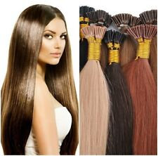 "I-Tip 18""  Pre-Bonded Extensions Finest European Remy Hair 100 Strands Any Color"