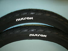 "Pair 16 x 1 3/8"" (37-349) Nutrak Cycle Tyres Brompton Moulton"