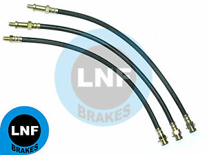 FORD F250 3/4 Ton PICKUP Flareside Stepside 2WD BRAKE HOSE FRONT REAR x3 65 1965