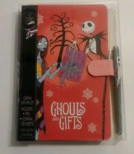 25th Anniv. Nightmare Before Christmas 25 Journal & Pen set Ghouls & Gifts.New