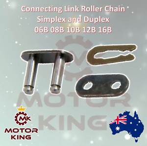 Connecting Link Master Single Duplex Roller Chain 06B 08B 10B 12B 16B Clip Con