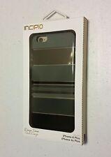 INCIPIO DESIGN SERIES Hard Shell Case for iPhone 6/6s Plus IPH-1387-BLK NEW NIB