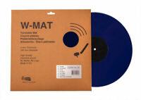Acrylic Hi-Fi Turntable Mat, W-MAT by Winyl, 3mm thickness, Dark Blue.