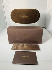 NEW!!!!   TOM FORD Sunglass/Eyeglass Case w/Box, Cloth & Book