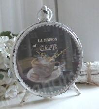 Kaminuhr,Tischuhr,Uhr * CAFE DU MAISON * Antik-Finish, Franske,Shabby, Nostalgie