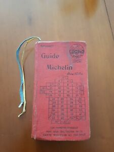 Guide Michelin 1924