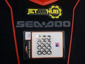 SeaDoo Titanium Valve Retainers