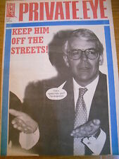 PRIVATE EYE MAGAZINE NUMBER 847 JUN 94 JOHN MAJOR KEEP HIM OFF THE STREETS!