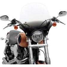 """Parabrisas El Paso Black Negro desde 19""""- 48 cm para Harley Davidson HD"""