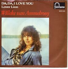 """7"" - WILLEKE van AMMELROOY - Da, da I love you - RARITÄT !!!"