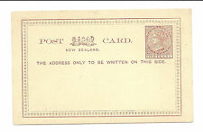 New Zealand Postal Card/Stationary - 1886 - One Penny - Unused*
