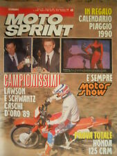 Motosprint 49 1989 Test Honda 125 CRM - Lawson e Schwants Campioni