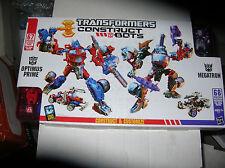 Transformers Constructbots Optimus Prime/Megatron NEW SEALED