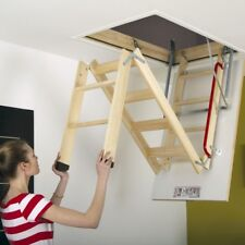 55x111 LWK Comfort Fakro loft ladder - Attic Wooden Stairs