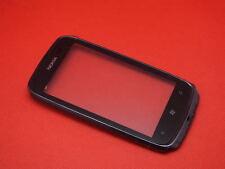 Nokia Lumia 610 Touchscreen Touch Display Glas Digitizer Frame inkl Hörmuschel