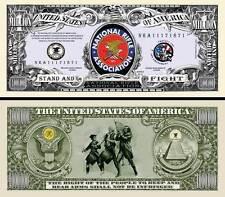 NRA - BILLET MILLION DOLLAR US! Collection Armes à Feu 2ème Amendement armée USA