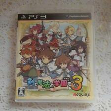 PS3 Class of Heroes 3 PlayStation 3 Japan