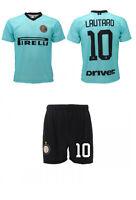 Maglia Lautaro Inter 2020 + Pantaloncino ufficiale Completo 2019 Away trasferta