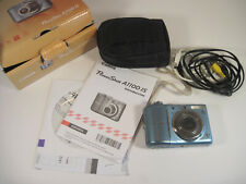 Canon Power Shot A1100 Digital IS Camera Parts or Repair Powers On in Orig. Box