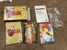 Authentic Original Nintendo N64 Legend Of Zelda Ocarina Time box & Manual only