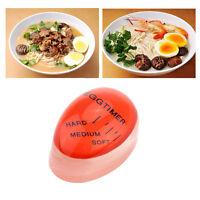 Egg timer indicator soft-boiled display egg cooked degree mini egg boiler LI
