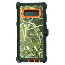 Or Grass For Samsung Galaxy Note 8 Defender Case Cover [Belt Clip Fits Otterbox]