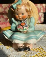 """Collectible Rare Goebel byj12 """"Sitting Pretty"""" 1957 from W Germany"""