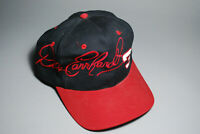 Vintage 90s Dale Earnhardt Racing Snapback Hat NASCAR RCR Black Red Intimidator