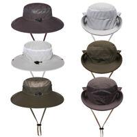 Fishing Sun Cap Wide Brim Boonie Hat Outdoor Bucket Hat Quick Drying Bucket Hats