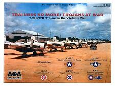 AOA Decals 1/48 TRAINERS NO MORE T-28 TROJAN AT WAR IN VIETNAM