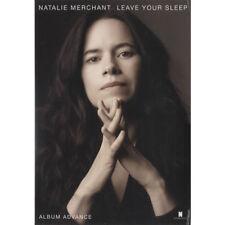 Natalie Merchant Leave Your Sleep 2 CD album (Double CD) USA promo PRO400114