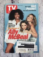 Vintage 1998 Sept. 26 - Oct. 2 TV Guide - Women of Ally McBeal on Cover