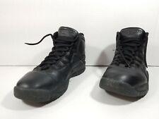 Nike Air Jordan Retro 10 NYC Basketball Shoes Black 310805 012 Sz 9.5