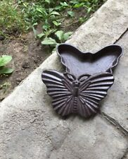 Cast Iron Butterfly Hide A Key! Brand New. Never Get Locked Out Again!