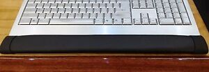 Comfortable Foam, Ergonomic, Washable, Keyboard Wrist Support Rest, Safco, Black