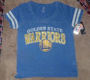 NEW NBA Golden St State Warriors Basketball T Shirt Juniors Jrs Women 15 17 NWT
