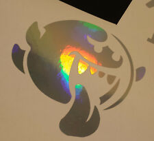 NEO CHROME Ghost Vinyl Decal Sticker Mario Window Car Truck Drift JDM