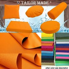 PL05-TAILOR MADE Orange Outdoor Waterproof SunUmbrella Patio sofa seat cover