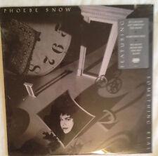 PHOEBE SNOW / SOMETHING REAL sealed VINYL LP singer /songwriter 1989 mint