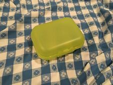 Tupperware® NEW Yellow Packable Oyster Snack Container Keeper Reusable