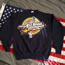 NBA All Star Game 2000 Golden State Crewneck Sweatshirt LOGO 7 USA Made M Medium