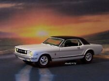 1966 66 FORD MUSTANG COLLECTIBLE 1/64 SCALE DIECAST MODEL DIORAMA OR DISPLAY