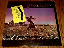 PINK FLOYD A SELECTION OF GREAT DANCE SONGS LP SEALED WITH STICKER!  1981