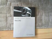 MERCEDES PRESS  FOLDER PARIS 2012 ULTRA RARE   SLS AMG GT, SLS AMG ELECTRIC