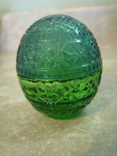 AVON SWEET HONESTY Green Egg CREAM CACHET PERFUME Jar/Bottle EMPTY Easter VTG