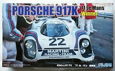 FUJIMI 1/24 Porsche 917K 1971 Le Mans winner Martini No.22 RS-88 scale model kit