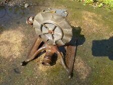 Double Rotary Sprinkler C Junior Vintage Lawn Garden Cast Iron Antique Yard Tool