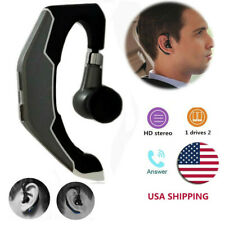 Bluetooth Headset Wireless Bluetooth Earpiece Noise Canceling for iPhone Samsung