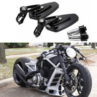 "For Harley Davidson V Rod Muscle Custom Motorcycle 7/8"" Handle Bar End Mirrors A"