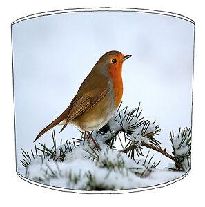 Robin Lampshades, Ideal To Match Garden Bird Wall Decals & Stickers